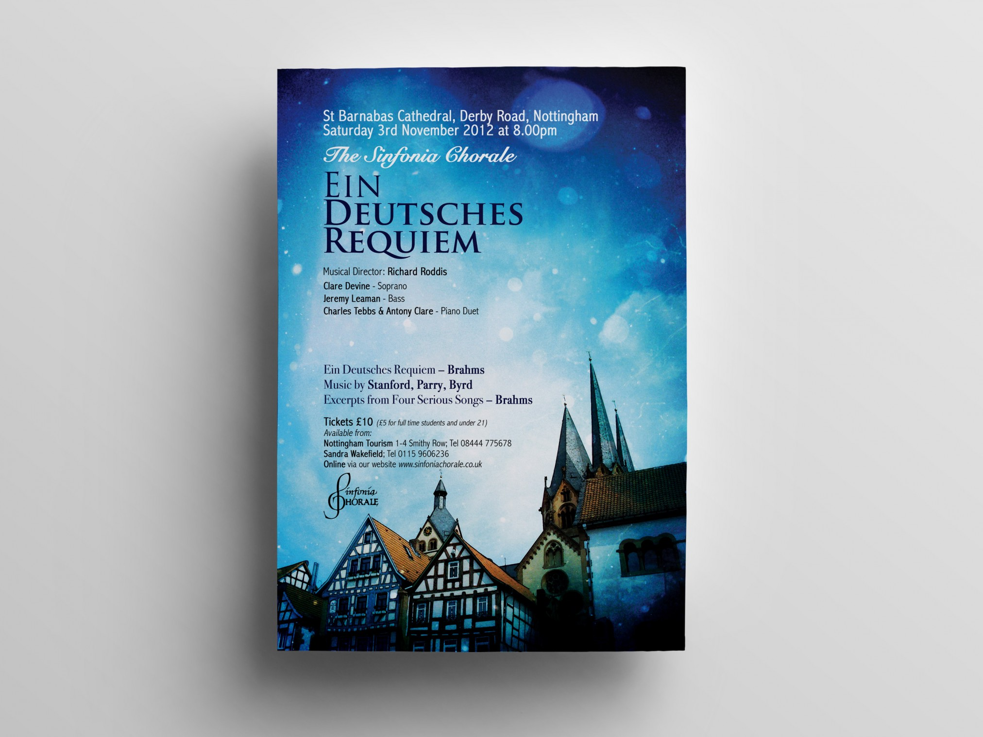 Deutsches Requiem Sinfonia